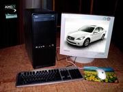 Продам новый быстрый двуяхъядерный  компьютер!