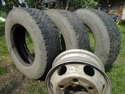 Автошины грузовые 235/75R17.5 б/у