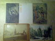 открытки российские и иностранные