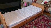 Продам 2 кровати односп. с матрацами - 3500р.,  по отдельности - 1750р.