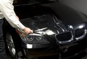 Защитное виниловое покрытие автомобиля (бронирование).