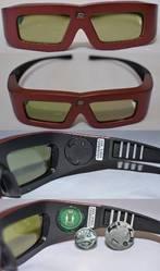 Затворные 3D очки для проектора 3D DLP-Link (Аналог Xpand X102).