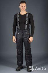 пуховик мужской и утепленные брюки