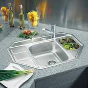 монтаж кухонных моек