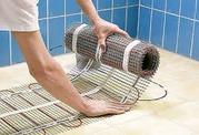 установка электрического кабельного и инфракрасного теплого пола