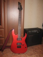 Продам ibanez grgr121ex candy apple