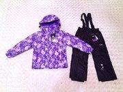Финские зимние мембранные куртки костюмы комплекты для детей