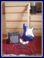 Электрогитара Fender Squier Affinity Strat и комб Kustom KGA 10