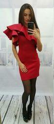 Продам красное коктельное платье в идеальном состоянии
