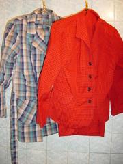 Костюм женский (блуза + длинная юбка),  шерсть 100%