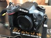 Продам фотоаппарат Nikon D7200 body новый