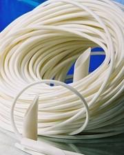 Трубка ПВХ (кембрик) электротехническая,  цвет белый