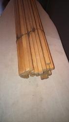 Штапик деревянный (сосна),  сухой. Сечение прямоугольное 10 х 10 мм
