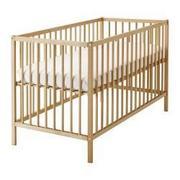 Продается детская кроватка,  матрас бу.